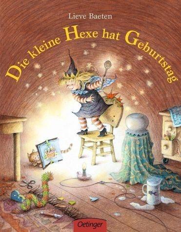 Buch mit Papp-Einband »Die kleine Hexe hat Geburtstag«