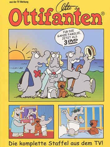 DVD »Otto's Ottifanten - Die komplette Staffel aus...«