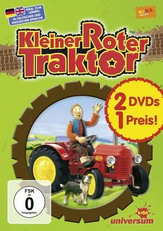 DVD »Kleiner roter Traktor 01-02 (2 Discs, Exklusiv...«