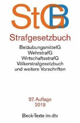 Broschiertes Buch »Strafgesetzbuch (StGB)«