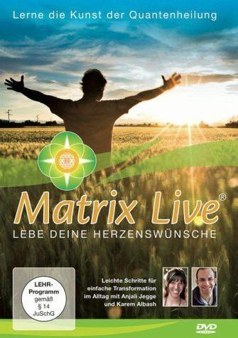 DVD »Matrix Live - Lebe deine Herzenswünsche«