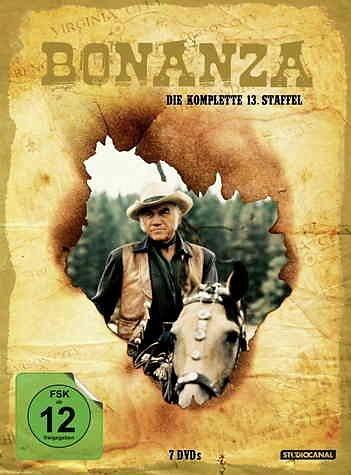 DVD »Bonanza - Die komplette 13. Staffel (7 Discs)«