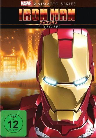 DVD »Marvel Animated Series: Iron Man - Die...«