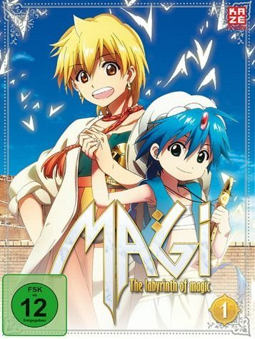 DVD »Magi: The Labyrinth of Magic, Box 1 (2 Discs)«