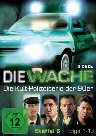 DVD »Die Wache - Staffel 6, Folgen 1-13 (3 Discs)«