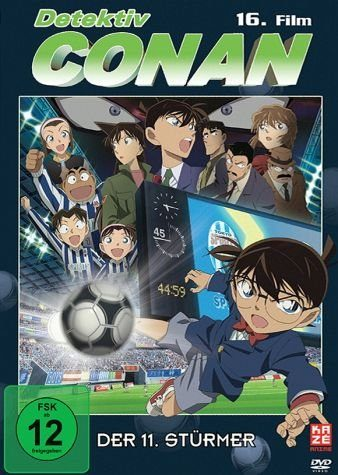 DVD »Detektiv Conan - 16. Film: Der 11. Stürmer«
