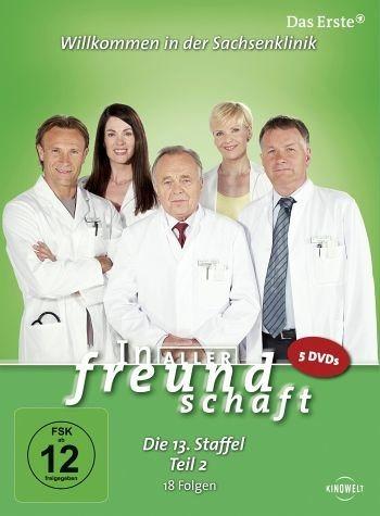 DVD »In aller Freundschaft - Die 13. Staffel, Teil...«