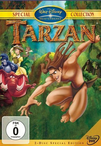 DVD »Tarzan, Special Edition, 2 DVDs«