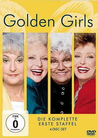 DVD »Golden Girls, Staffel 1, 4 DVDs«