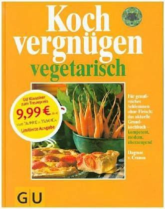 Gebundenes Buch »Kochvergnügen vegetarisch«