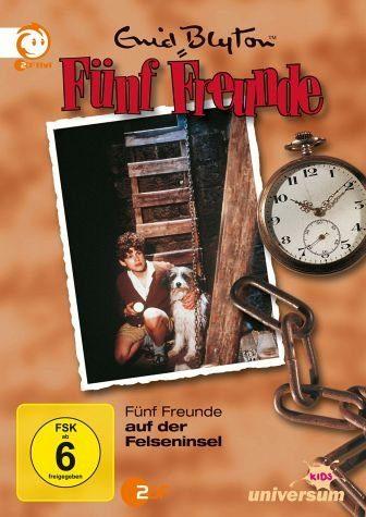 DVD »Enid Blyton - Fünf Freunde auf der Felseninsel«