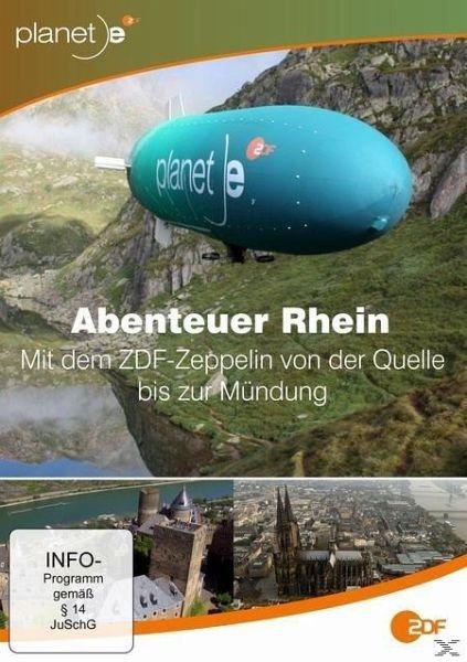 DVD »Abenteuer Rhein - Mit dem ZDF-Zeppelin von der...«