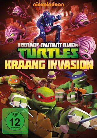 DVD »Teenage Mutant Ninja Turtles - Kraang Invasion«