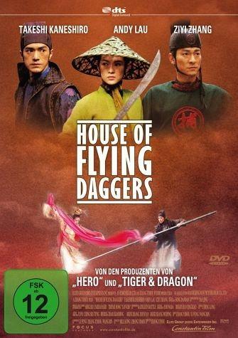 DVD »House of Flying Daggers, DVD«