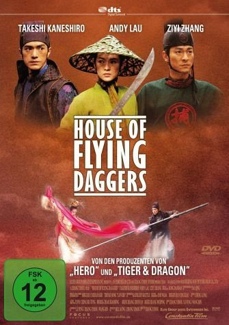 DVD »House of Flying Daggers, DVD«
