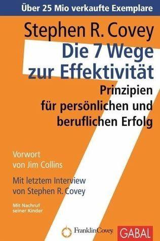 Gebundenes Buch »Die 7 Wege zur Effektivität«