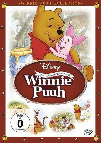 DVD »Winnie Puuh - Die vielen Abenteuer von Winnie...«