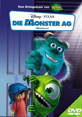 DVD »Die Monster AG, 1 DVD«