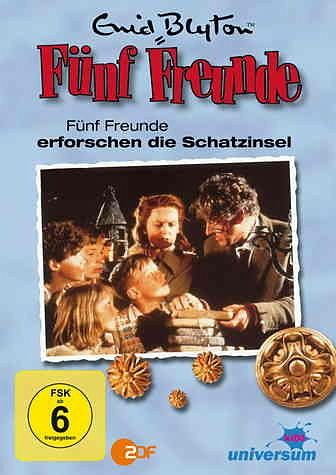 DVD »Enid Blyton - Fünf Freunde erforschen die...«
