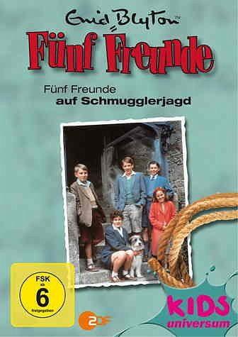 DVD »Enid Blyton - Fünf Freunde auf Schmugglerjagd«