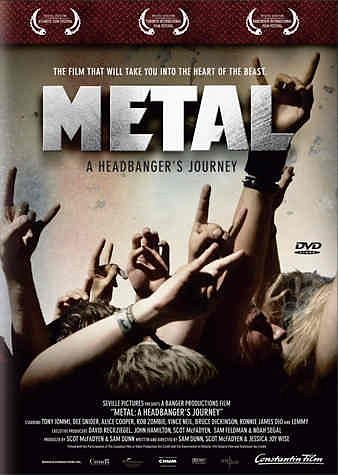 DVD »Metal - A Headbanger's Journey«
