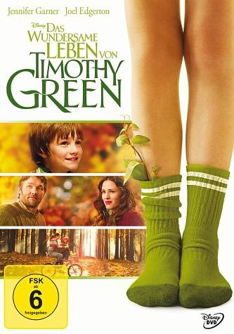 DVD »Das wundersame Leben von Timothy Green«