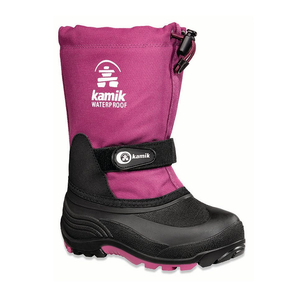 Kamik Stiefel »Waterbug5G Winter Boots Child« in pink