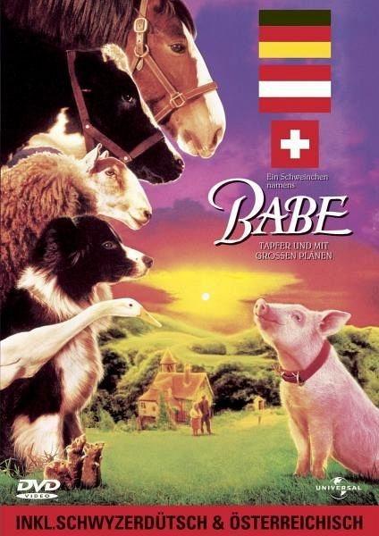DVD »Ein Schweinchen namens Babe - Deutsche,...«