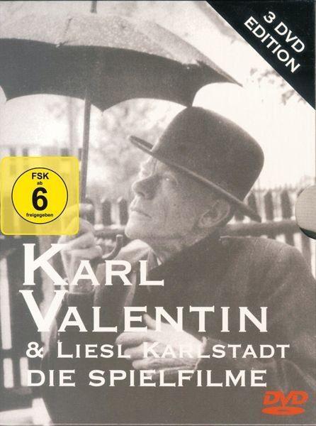 DVD »Karl Valentin - Die Spielfilme (3 DVDs)«