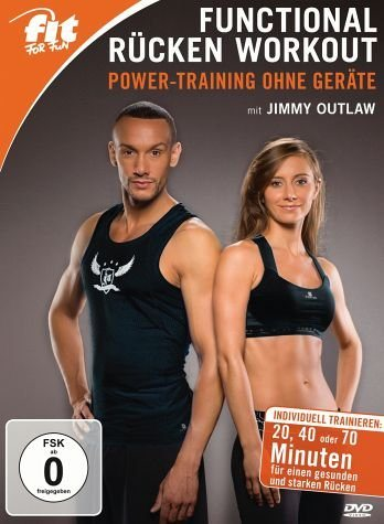 DVD »Fit for Fun - Functional Fitness mit Jimmy...«