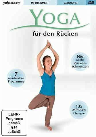 DVD »Yoga - Für den Rücken«