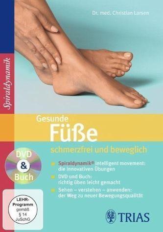 DVD »Gesunde Füße: schmerzfrei und beweglich, 1 DVD...«