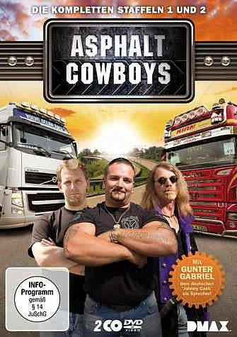DVD »Asphalt Cowboys - Die kompletten Staffeln 1...«