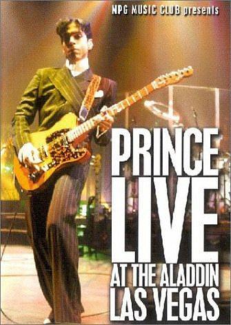 DVD »Prince - Live at the Aladdin, Las Vegas«