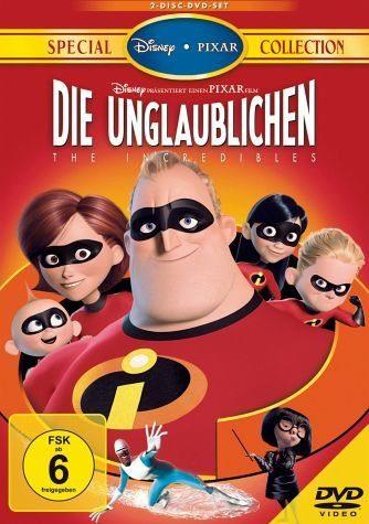 DVD »Die Unglaublichen, 2 DVDs«
