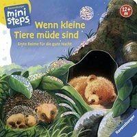 Buch mit Papp-Einband »Wenn kleine Tiere müde sind«