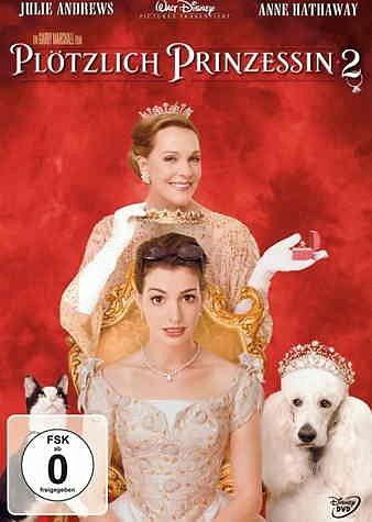 DVD »Plötzlich Prinzessin 2«