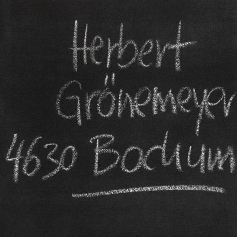 Audio CD »Herbert Grönemeyer: Bochum«