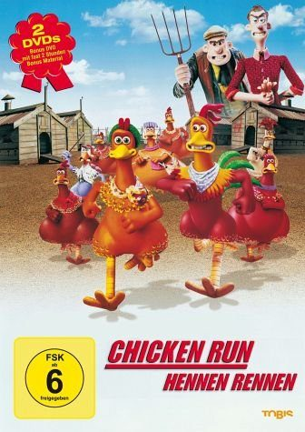 DVD »Chicken Run - Hennen Rennen«