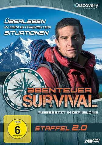 DVD »Abenteuer Survival - Staffel 2.0 (2 Discs)«