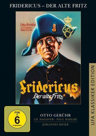 DVD »Fridericus - Der alte Fritz«