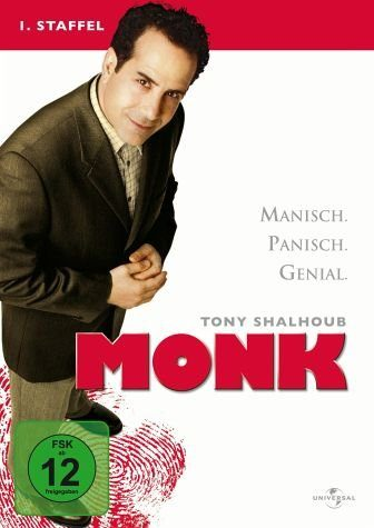 DVD »Monk - 1. Staffel (4 Discs)«