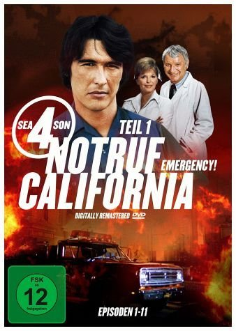 DVD »Notruf California - Staffel 4, Teil 1 (3 DVDs)«