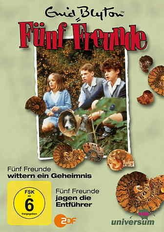 DVD »Enid Blyton - Fünf Freunde wittern ein...«