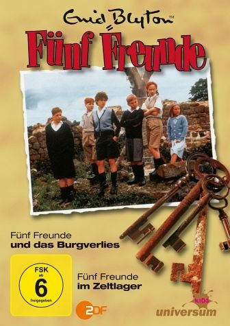DVD »Enid Blyton - Fünf Freunde und das Burgverlies...«