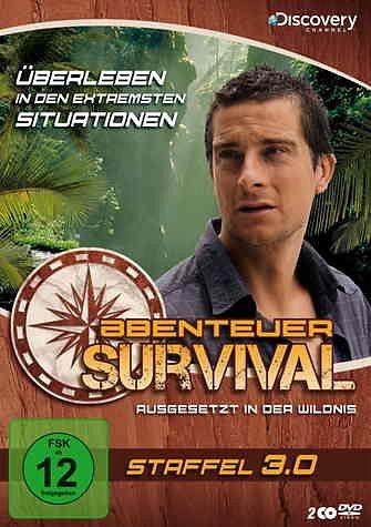 DVD »Abenteuer Survival - Staffel 3.0 (2 Discs)«