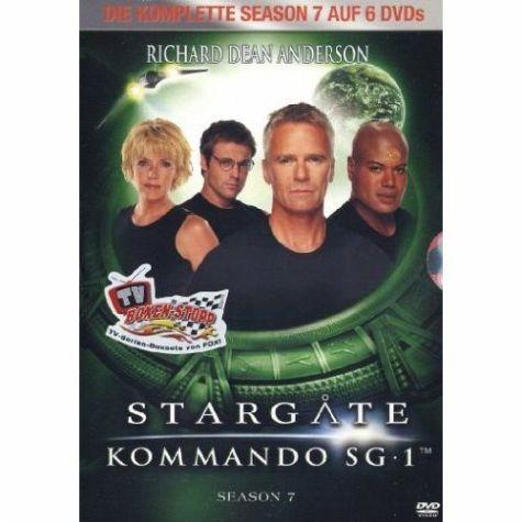 DVD »Stargate Kommando SG-1 - Season 07 (6 DVDs)«