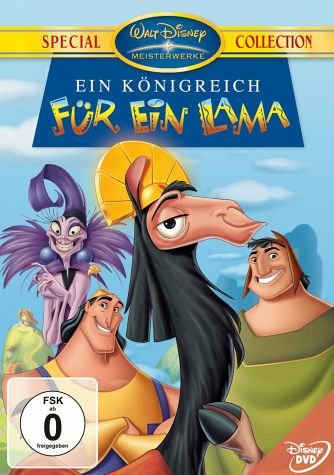 Griesen Angebote DVD »Ein Königreich für ein Lama, 1 DVD«