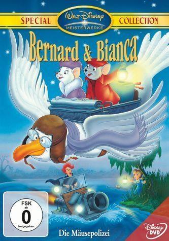 DVD »Bernard & Bianca, Die Mäusepolizei, 1 DVD«