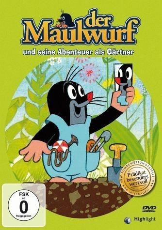 DVD »Der Maulwurf und seine Abenteuer als Gärtner«